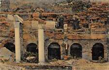 Corinthe Greece Ruins Antique Postcard J46482