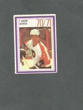 1970-71 Esso Hockey Stamp Andre Lacroix Philadelphia Flyers
