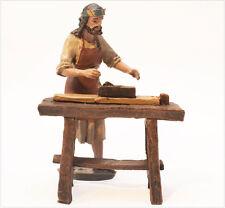 Figurine la Crèche J. L. Mai (11 cm) - Menuisier avec Banc de Travail - BEL083