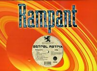ASTRAL MATRIX Done RAMPANT US 12-inch 3-track EP NM * house