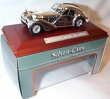 Bugatti Coupe Atlantic Silver Cars Collection New in box