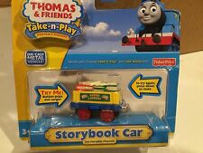 NIP - Diecast Storybook Car for Thomas Trains Take N Play or Take Along Railway