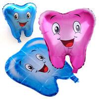 Molar Teeth Cartoon Balloon Balloons Dental Clinic Birthday Wedding Decoration