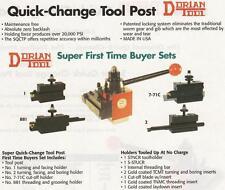 "Dorian Quick Change Tool Post SET AXA Up"" To 12"" NEW"