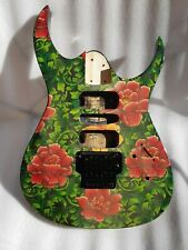 More details for electric guitar body & floyd rose style bridge - used - relic - ibanez?