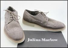 JULIUS MARLOW MENS GREY CASUAL LACE UP SUEDE SHOES SIZE 12