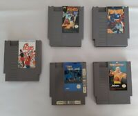 A Lot Of Five NES Nintendo Entertainment System Games Tested