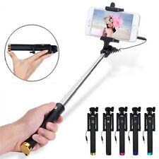 Mini Monopode Bâton Selfie Perche Télescopique Pliable Pour iPhone Samsung Photo