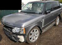 Range Rover Vogue L322 Wrecking TDV6 TDV8 3.6 Engine Transmission parts Tailgate