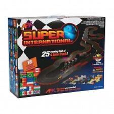 AFX Super International 4-Lane Mega G+ Slot Car Track Set AFX 21018