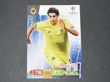 CANI VILLAREAL UEFA PANINI FOOTBALL CARD CHAMPIONS LEAGUE 2011 2012