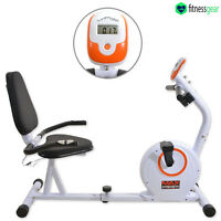Magnetic Recumbent Exercise Bike Cardio Fitness Training Workout Bicycle Trainer