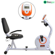 Magnetic reclinata Cyclette Cardio Fitness Training Allenamento Bicicletta Trainer