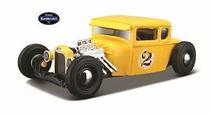 Ford Modell A Hot Rod Modell von Maisto Gelb / Yellow A 1929  Maßstab 1:24