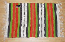 New Gringo Woven Cotton Fair Trade Rug - Hippy Boho Ethnic India Rag