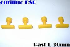 4  pastilles pour  DSP par collage longue 30mm.