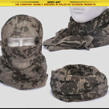 German Desert Camouflage Tactical Mesh Scarf Wrap Face Cover Mask Sniper Veil