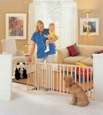 Extra Big Baby Child Dog Pet 5 6 7 8 Foot Wide Long Ft Safety Strong Large Gate