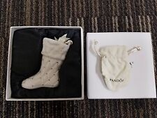 Pandora 2012 Limited Edition Christmas Stocking Ornament Complete in Box & Pouch