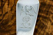 Irish Provincial: A George III silver 1802 Serving spoon, William Ward, Limerick