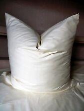 Bettwäsche Satin Viscose einfarbig Farbe Creme Größe 135 cm x 200 cm Neu