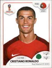 Carte collezionabili calcio Cristiano Ronaldo Russia