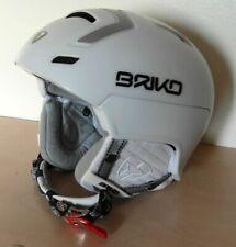 Briko Stromboli Primaloft Snowboarding Helmet Ski Helmet White Size 58cm  NEW