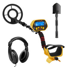 Gold Digger Metal Detector Waterproof Deep Sensitive Search w/ Shovel Headphone