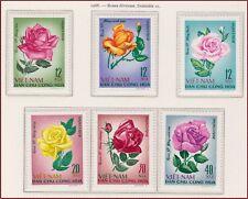 VIETNAM du NORD N°586/591** Fleurs, Roses 1968 North Vietnam 495-501 Flowers MNH
