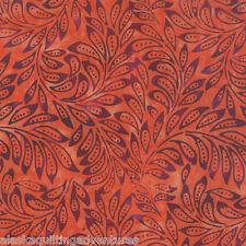 MODA Fabric ~ DE LA SOL BATIKS ~ Flame (4337 13) - by the 1/2 yard