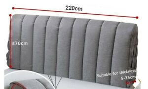 Double Bed Headboard Cover Width 220cm Thickness 5-35cm
