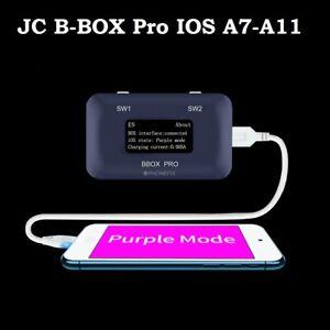 JC B-BOX Pro IOS A7-A11 DFU Purple Mode Non-removal NAND Programmer  iPhone iPad