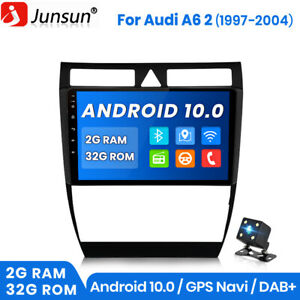 """9"""" Car Radio GPS Sat Nav RDS DAB+ WiFi DSP For Audi A6 S6 Avant RS6 Android10.0"""