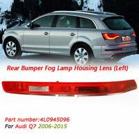 For Audi Q7 06-14 Rear Bumper Tail Light Lamp Left Passenger Near Side N/S
