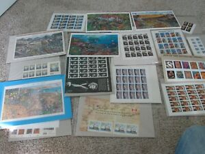 Lot of Mostly Sheets  37 39 41 42 44 Cent US Stamps Unused Nice!!