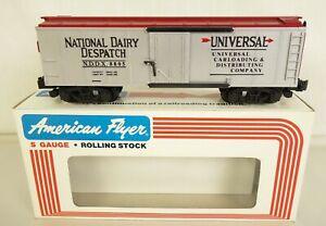 AMERICAN FLYER #6-48805 VINTAGE NATIONAL DAIRY DESPATCH NDDX 8805 BOX CAR-MIB!
