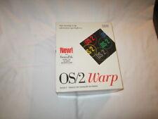 "IBM 0S/2 Warp Version 3 Software Plus Bonus Pak on 3.5"" Disks in Original Box"