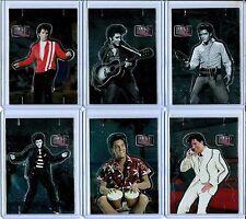 2010 Press Pass Milestones Elvis Presley 75th Birthday Pop Up Insert Set (6)