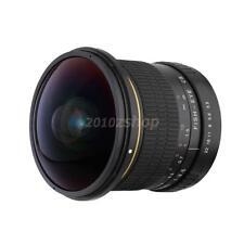 8mm 1: 3,5 HD Asphärische Super Wide Fisheye Objektiv für Canon EOS Kamera