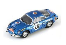 "Renault Alpine A110 #28 Andersson ""Winner Monte Carlo"" 1971 (Spark 1:87/ 87S021)"