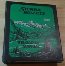 Sierra Bullets 2nd Reloading Manual-MORE PHOTOS COMING