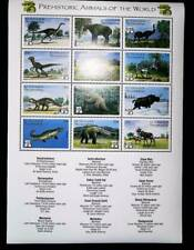 St. Vincent  1999 dinosaurs and prehistoric animals