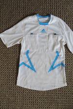 ADIDAS T-SHIRT S, Sportshirt FORMOTION Top m Taschen 44 46, weiß türkis, Mesh