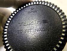 Lentille Arrière Capuchon Tokina pour Nikon 100mm 300mm f2.8 At-X Pro Sd Af