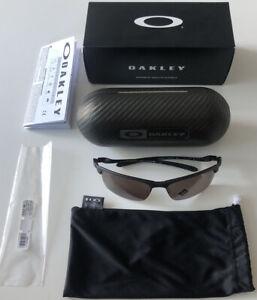 Oakley Sunglasses- Matte Carbon Blade 9174 - Brand New & Case - RRP £358