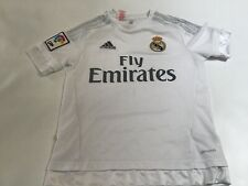 adidas LFP Real Madrid Soccer/Football Jersey Youth L (13-14Y) White
