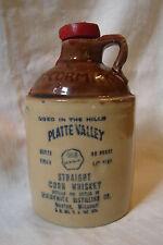 Vintage Pint Größe Mccormick Brennerei Platte Valley Gerade Mais Whisky Krug