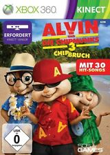 Alvin et les Chipmunks 3-chip rupture Xbox 360 (kinect obligatoire)