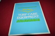 Parker Turf Care Equipment Lawn Mower For 1978 Dealer's Brochure BWPA