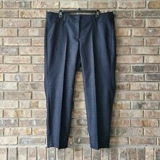 Lane Bryant The Allie Skinny Ankle Pants Sexy Stretch Size 18 Blue Black NEW